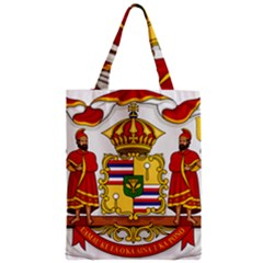 Kingdom Of Hawaii Coat Of Arms, 1850 1893 Zipper Classic Tote Bag