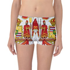 Kingdom Of Hawaii Coat Of Arms, 1850 1893 Boyleg Bikini Bottoms