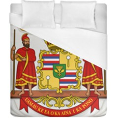 Kingdom Of Hawaii Coat Of Arms, 1850 1893 Duvet Cover (california King Size)
