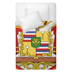 Kingdom Of Hawaii Coat Of Arms, 1850 1893 Duvet Cover Double Side (single Size)