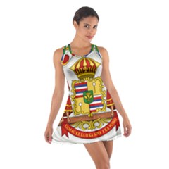 Kingdom Of Hawaii Coat Of Arms, 1850 1893 Cotton Racerback Dress