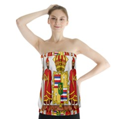 Kingdom Of Hawaii Coat Of Arms, 1850 1893 Strapless Top