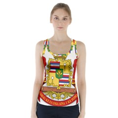 Kingdom Of Hawaii Coat Of Arms, 1850 1893 Racer Back Sports Top