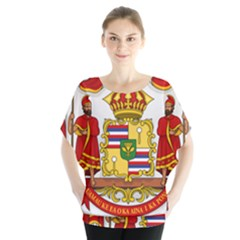 Kingdom Of Hawaii Coat Of Arms, 1850 1893 Blouse