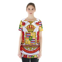 Kingdom Of Hawaii Coat Of Arms, 1850 1893 Skirt Hem Sports Top