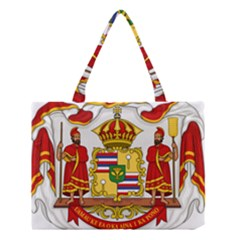 Kingdom Of Hawaii Coat Of Arms, 1850 1893 Medium Tote Bag