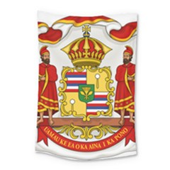Kingdom Of Hawaii Coat Of Arms, 1850 1893 Small Tapestry