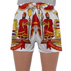 Kingdom Of Hawaii Coat Of Arms, 1850 1893 Sleepwear Shorts