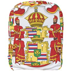 Kingdom Of Hawaii Coat Of Arms, 1850 1893 Full Print Backpack