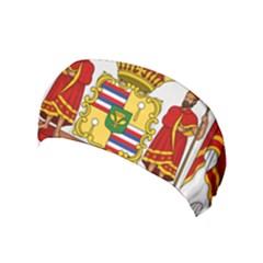 Kingdom Of Hawaii Coat Of Arms, 1850 1893 Yoga Headband
