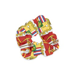Kingdom Of Hawaii Coat Of Arms, 1850 1893 Velvet Scrunchie