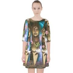 The Wonderful Women Of Earth Pocket Dress