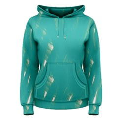 Background Green Abstract Women s Pullover Hoodie