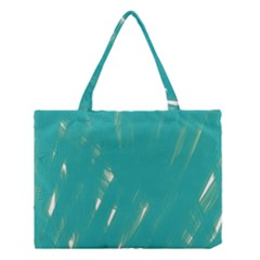 Background Green Abstract Medium Tote Bag