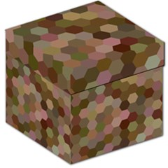 Brown Background Layout Polygon Storage Stool 12