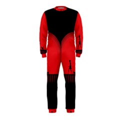 Girl Cat Scary Red Animal Pet Onepiece Jumpsuit (kids)