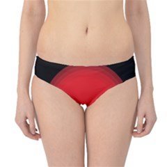 Girl Cat Scary Red Animal Pet Hipster Bikini Bottoms