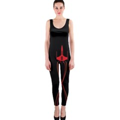 Ship Space Spaceship Onepiece Catsuit