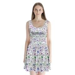 Lovely Shapes 1a Split Back Mini Dress