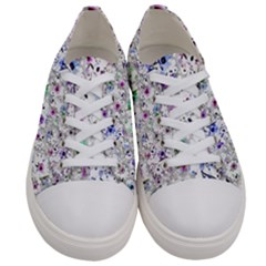 Lovely Shapes 1a Men s Low Top Canvas Sneakers
