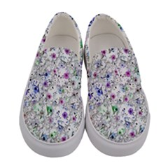 Lovely Shapes 1a Women s Canvas Slip Ons