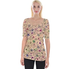 Lovely Shapes 1b Wide Neckline Tee