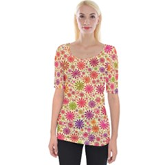 Lovely Shapes 3c Wide Neckline Tee
