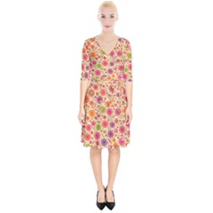 Lovely Shapes 3c Wrap Up Cocktail Dress