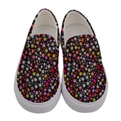 Lovely Shapes 4a Women s Canvas Slip Ons