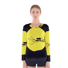 Jaguar Puma Animal Panther Cat Women s Long Sleeve Tee