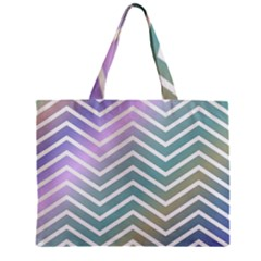Zigzag Line Pattern Zig Zag Mini Tote Bag