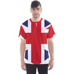 Uk Flag United Kingdom Men s Sports Mesh Tee
