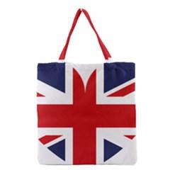 Uk Flag United Kingdom Grocery Tote Bag