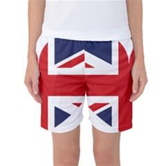 Uk Flag United Kingdom Women s Basketball Shorts