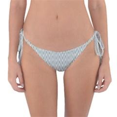 Vintage Pattern Chevron Reversible Bikini Bottom