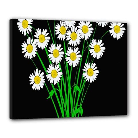 Bouquet Geese Flower Plant Blossom Canvas 20  X 16