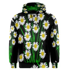 Bouquet Geese Flower Plant Blossom Men s Pullover Hoodie