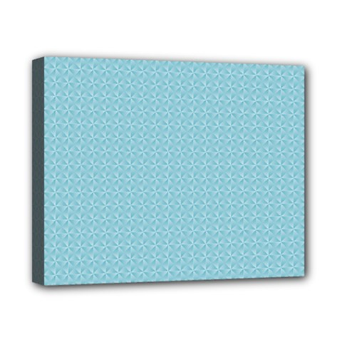 Blue Pattern Background Texture Canvas 10  X 8