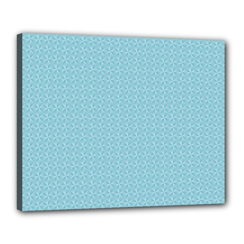Blue Pattern Background Texture Canvas 20  X 16