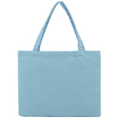 Blue Pattern Background Texture Mini Tote Bag