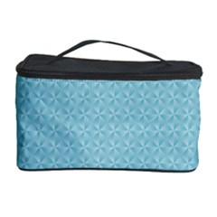 Blue Pattern Background Texture Cosmetic Storage Case