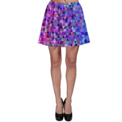 Triangle Tile Mosaic Pattern Skater Skirt