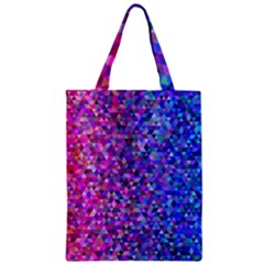 Triangle Tile Mosaic Pattern Classic Tote Bag