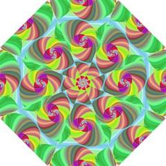 Seamless Pattern Twirl Spiral Hook Handle Umbrellas (small)