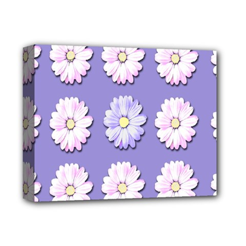 Daisy Flowers Wild Flowers Bloom Deluxe Canvas 14  X 11