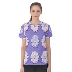 Daisy Flowers Wild Flowers Bloom Women s Cotton Tee