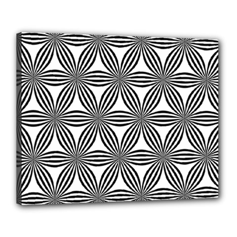 Seamless Pattern Repeat Line Canvas 20  X 16