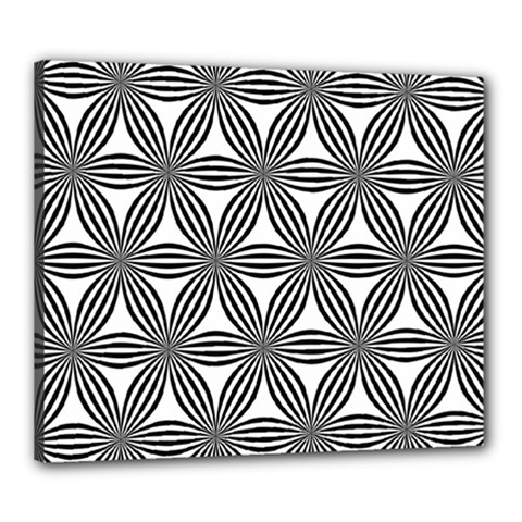 Seamless Pattern Repeat Line Canvas 24  X 20
