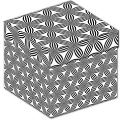 Seamless Pattern Repeat Line Storage Stool 12