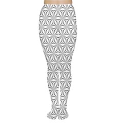 Seamless Pattern Monochrome Repeat Women s Tights